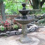  Romantic new fountain at the ruins