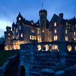 Skibo Castle by Night
