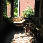 Lehmann House - inviting front porch