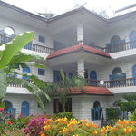 Beautiful & colourful Glacier Hotel Pokhara