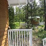  View to Nordic Cabin from Back Deck
