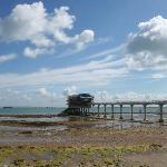 Bembridge Lifeboat station under reconstruction