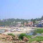  une des plages de Kovalam