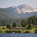 Firehole Ranch from Hebgen Lake