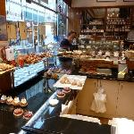 The patisserie right next door to the hotel (excellent quiche!)