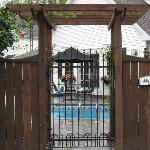  Gateway to garden and pool