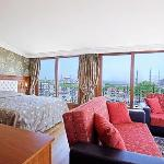 Junior suite with bosphorus view