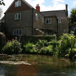 The Old Mill House, from the stream