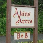 You have just arrived at Akins Acres