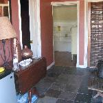  The entry foyer.....