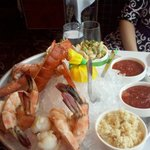 The shellfish platter. A meal to itself!