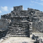 The temple at El Rey, the archeological site