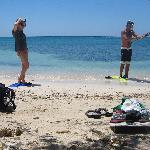  me and my wife going spearfishing