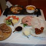  Part of a breakfast she cooked up personally for just 6 of us!