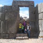  En Sacsayhuaman