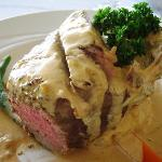 Steak stuffed with Lobster