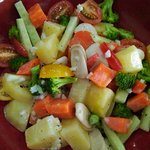 mix vegetables salad