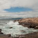 Waves at Schoodic Point