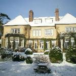 Upcott House in the Winter
