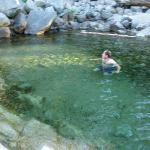Swimming Hole Near Lodgepole Bridge