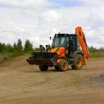 driving the JCB