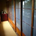 Ryokan Sanki - one of our rooms from outside.