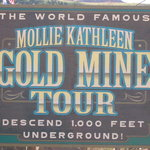 Mine Tour Sign