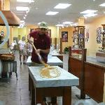 Fudge being HANDMADE FRESH at Kilwin's