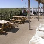  chairs, barbecue, tables...