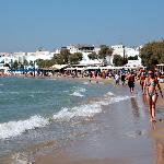  Lkker strand i Naxos