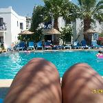 sorry about the legs this is the pool