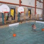  Pool Basketball area
