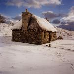 Mary's Cottages in the winter