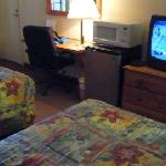  Room #105 with big fridge