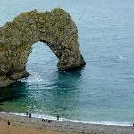 Durdle Door is a short walk away