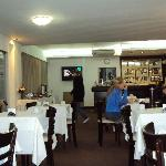 4.- Cloumbia Palace Hotel Bs As: Salón desayunador