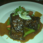 Braised short ribs - tender with intense flavor