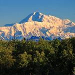  View of Denali from upstair bedroom