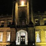 Airth Castle Hotel at night