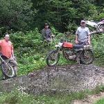  Dirtbike parking area ;)