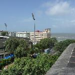 View from the roof top looking towards Marine Drive.