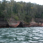 The sea caves on the Apostle Island trip were awesome
