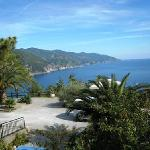 View from Suisse Hotel Bellevue, Monterosso