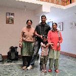 The very sweet and charming ladies of Shanti Guest House