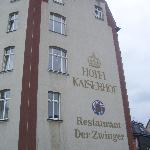 Hotel Kaiserhof - the building