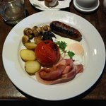 And here's the full english breakfast.