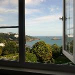 View from bedroom at the Headlands