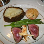 Chateau Briand - tasty but well undercooked!