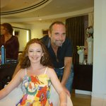 Cristophe Salon at the MGM Grand Hotel