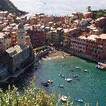 A view of Vernazza.